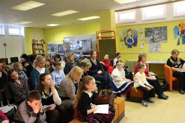 Šaliansky Maťko vMichalovciach. Súťaže sa zúčastnilo 33 detí.