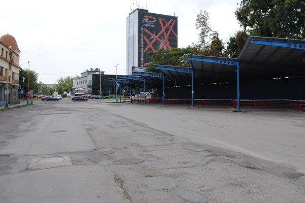 Kostolné námestie vMichalovciach. Zmení sa na pešiu aoddychovú zónu.