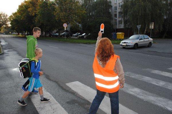 S bezpečnostnými úpravami priechodov pre chodcov mesto nekončí. ILUSTRAČNÉ FOTO.