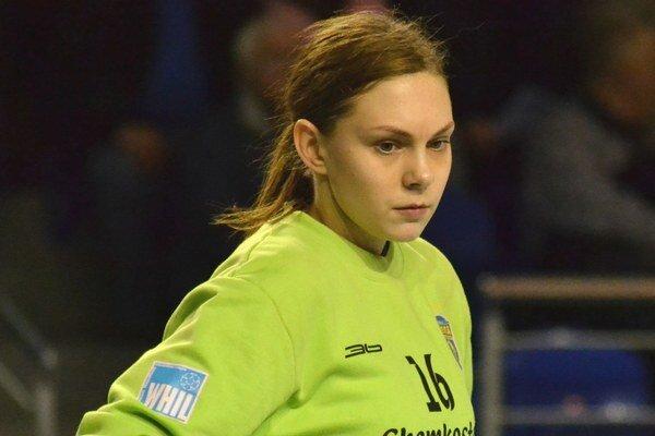 Turnaj v Poľsku jej vyšiel. A. Zykovovú vyhlásili za najlepšiu brankárku.