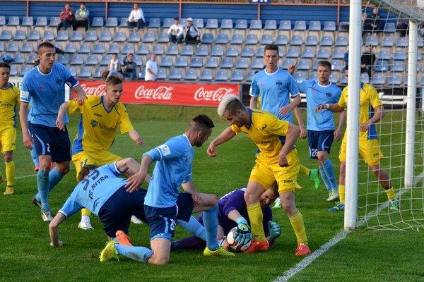 V Michalovciach sa hral výborný futbal. Nitrania obrali domácich o prvé body v prelínačke.
