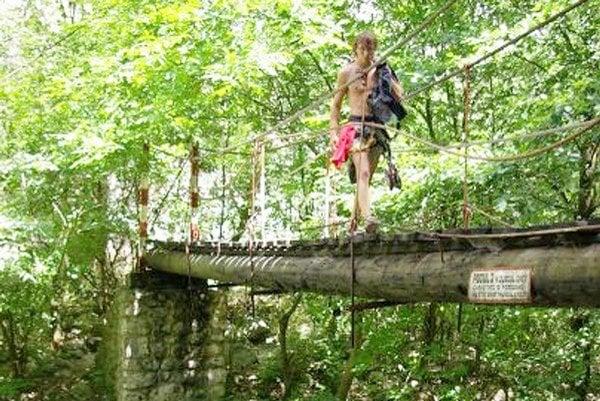 Dávid Dobiaš. Vyskúšal si splavovanie riek, paragliding a stále skúša niečo nové.