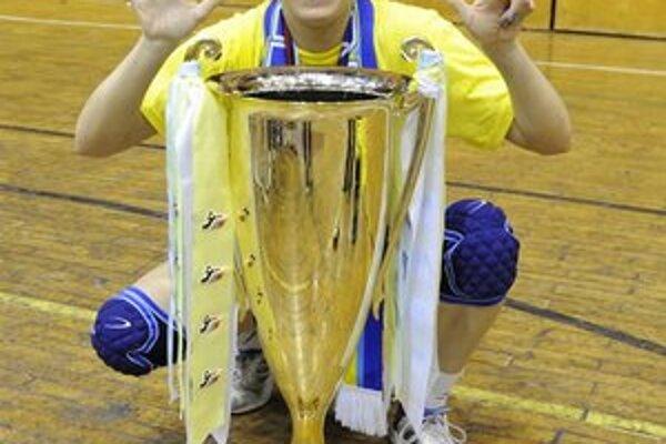Terézia Szöllösiová. Teší sa už zo siedmeho majstrovského titulu.