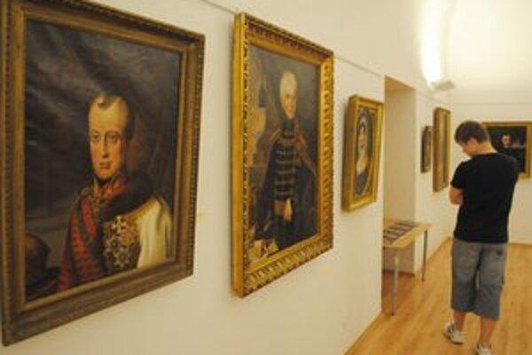 Výstava. V Zemplínskom múzeu môžete vidieť 77 diel od významných výtvarníkov 19. storočia.
