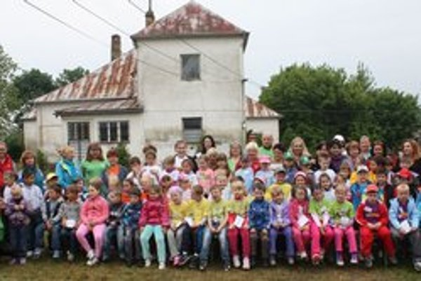Športová olympiáda. Zapojilo sa do nej 59 detí z 24 materských škôl.