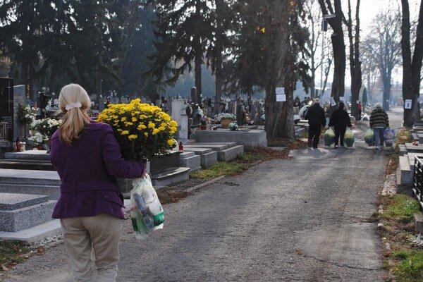 Cintoríny v Zemplíne. Správcovia tvrdia, že všetko je už pripravené.