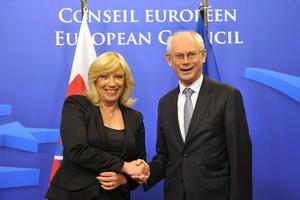 Európsku úniu a jej prezidenta Hermana van Rompuya nadšenie z vlády Ivety Radičovej na chvíľu prešlo.