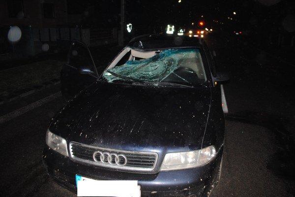 Obec Závadka. V posledných týždňoch tu došlo k dvom nehodám, pri ktorých sa vážne zranili dvaja chodci.