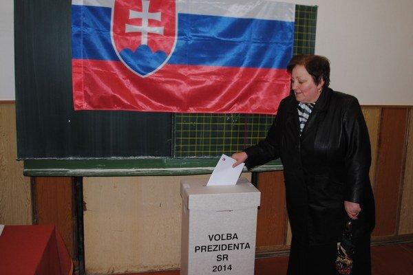 Voľby v Michalovciach. Volebná účasť v metropole Zemplína dosiahla necelých 36 percent.