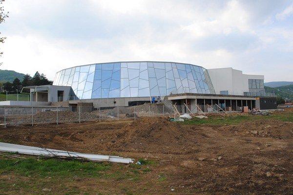 Thermal park na Šírave. V prevádzke by mal byť od polovice júna.