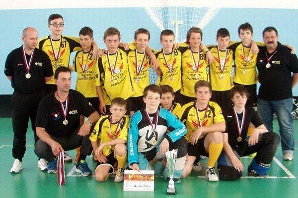 Starší žiaci FBK Michalovce sú druhí najlepší na Slovensku vo svojej kategórii.