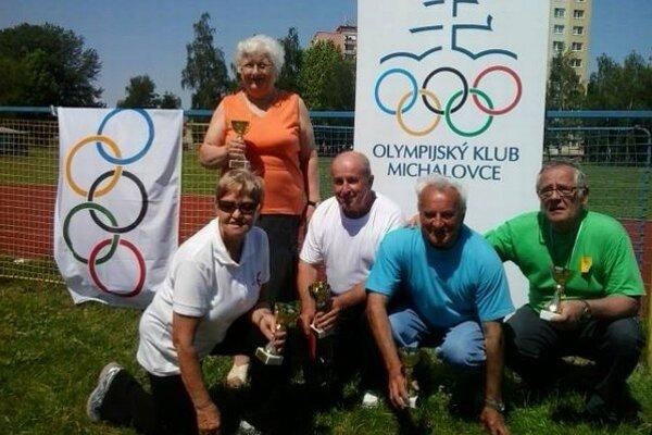 Olympiáda seniorov. Súťažilo až 105 seniorov.
