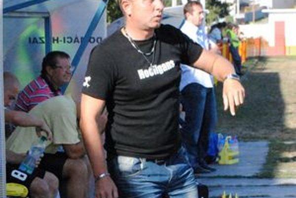 Tréner MFK Štefan Brezo. Jeho tím získal v jeseni 22 bodov.