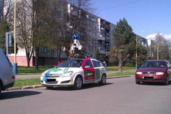 Street View autá brázdili aj ulice Michaloviec.