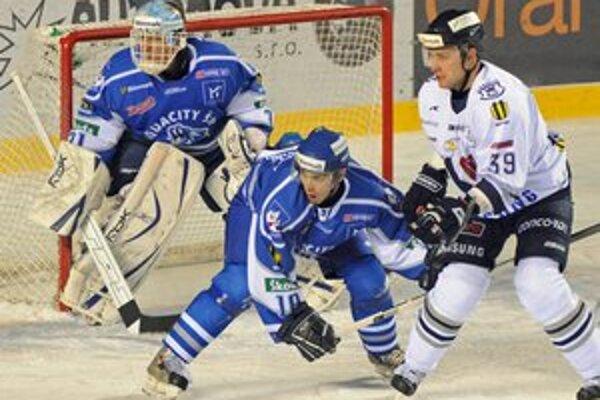 Daniel Hančák (vpravo) ešte v drese Slovana Bratislava.