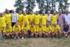 Bývalí hráči Zemplína Michalovce. Na turnaji obsadili tretie miesto.