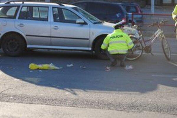 Po nehode opitý cyklista nafúkal 1,4 promile.