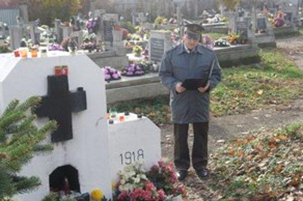 Veteráni spomínali na obete 1. svetovej vojny.
