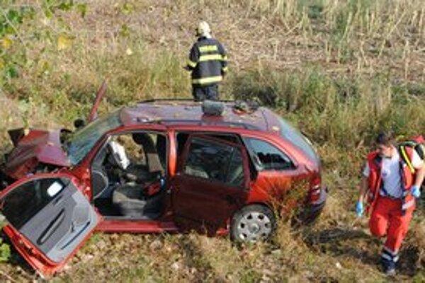 Nehody. V okresoch Sobrance a Michalovce bolo vlani 319 nehôd