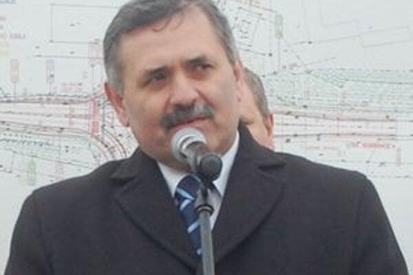 Michalovský primátor Viliam Záhorčák.