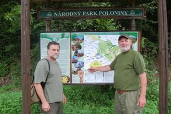 Národný park Poloniny. Informačné panely, hliadky dobrovoľných strážcov prírody a nepretržite otvorené informačné stredisko uľahčia turistom orientáciu v národnom parku.