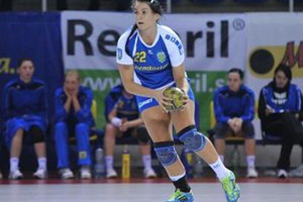 Marianna Rebičová v Olomouci vsietila osem presných zásahov.