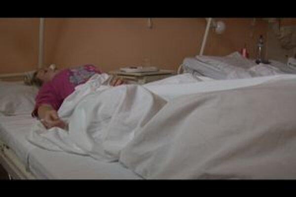 Zranená Gabika je od utorka v nemocnici v Humennom.