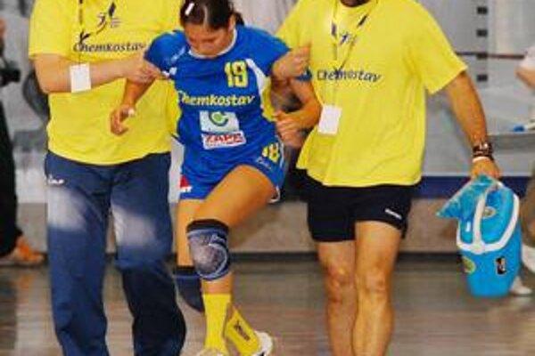 Doma nedohrala. V Michalovciach L. Tobiášová dohrala už v prvom zápase, koľko vydrží teraz?