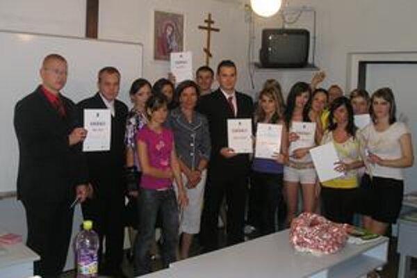 Prvý kurz svojho druhu. Bezplatnú Malú školu rodinných financií si študenti pochvaľovali.
