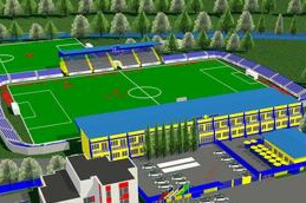 Futbalový štadión v Michalovciach sa zaradí medzi najkrajšie na Slovensku.