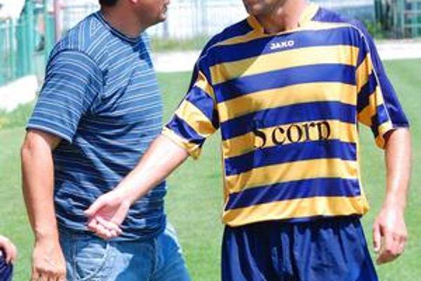 Tréner a hráč. Vladimír Rusnák ml. a Ruslan Ľubarskij. Stretnú sa dnes na lavičke?
