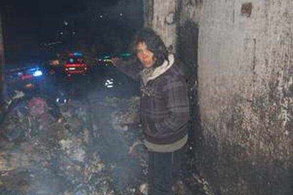 Adriana Karičková. Ušla s deťmi z horiaceho bytu.