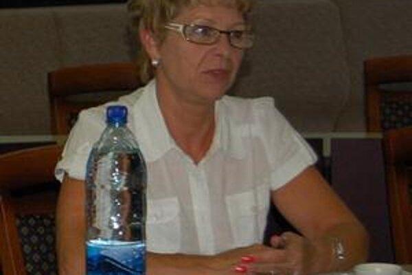 Poslankyňa Liduška Bušaničová je presvedčená, že priestory by malo mesto využiť na kultúrno-spoločenské akcie.
