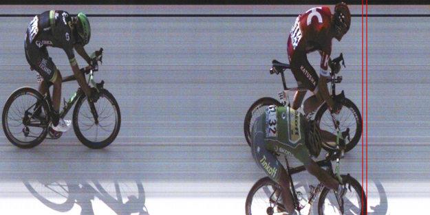 V pondelok triumfoval Peter Sagan len o milimetre.