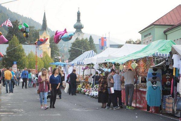 Krompašský trh. Teší sa nielen záujmu miestnych.