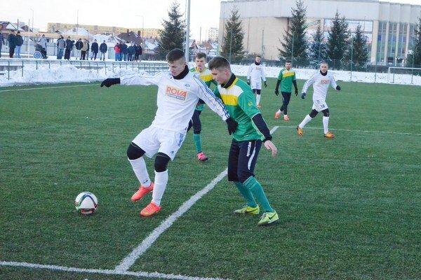 Bez zranených hráčov. Prvý zápas futbalistov Spišskej Novej Vsi v rámci zimnej prípravy s Vranovom poznačili zranenia a choroby.
