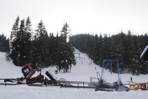 Lyžiarske stredisko Mlynky. Patrí medzi najnavštevovanejšie centrá v regióne.