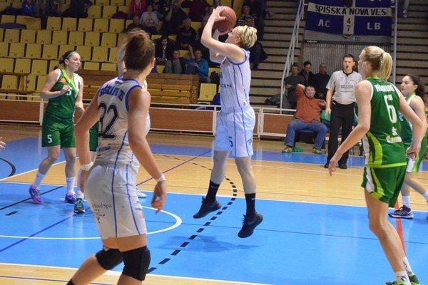Medzi štyrmi najlepšími. Po skvelom výkone so Šamorínom sa Spišiačky prebojovali medzi štyri najlepšie tímy na Slovensku.