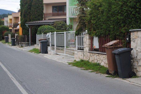 Ferčekovce sú príkladom triedenia odpadu.
