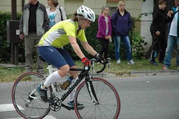 Ivona Vaľová. Z duatlonových pretekov si odniesla bronz.
