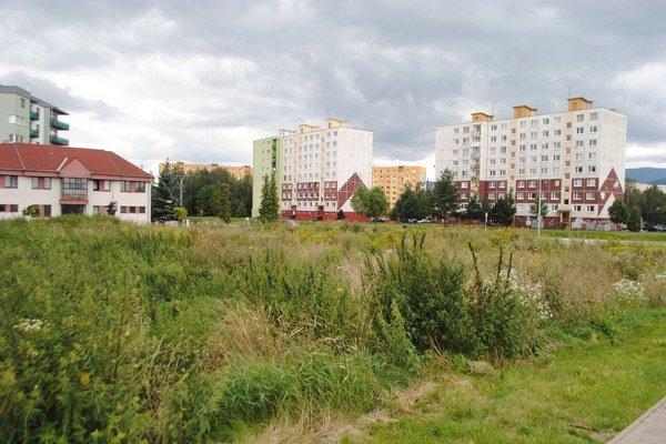 Nepokosený pozemok vadí obyvateľom najmä sídliska Mier.