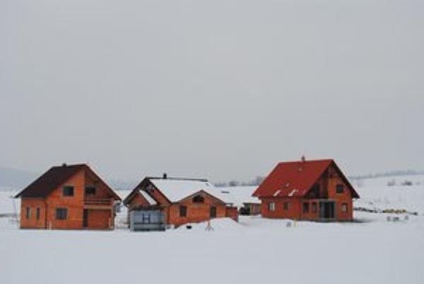 Nové domy. Obec pripravila 50 stavebných parciel pre záujemcov.