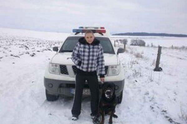 Jana Vongová. Bohaté skúsenosti z kynológie chce využiť aj pri policajnej práci.