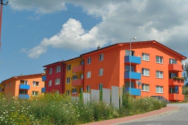 Nové byty. Sú mestským majetkom, ktoré spravuje BHMK.