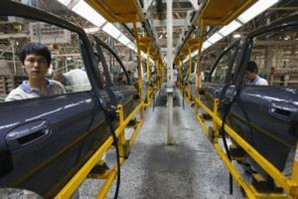 Čínska továreň Brilliance Automotive.