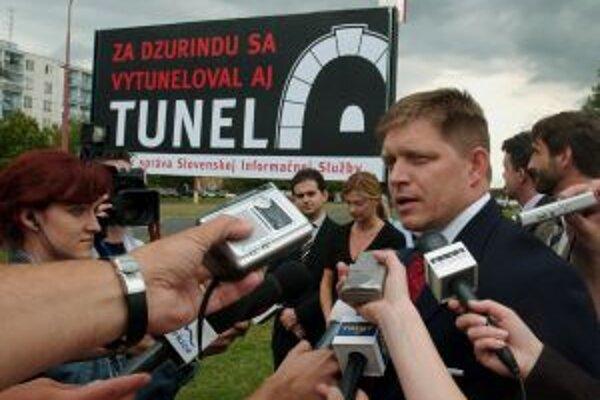 Fico v roku 2004 tvrdil, že počas výstavby tunela Branisko dochádzalo k tunelovaniu.