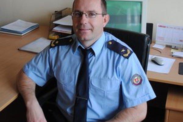 Stanislav Strojný. Od 1. apríla je riaditeľom Okresného riaditeľstva hasičského a záchranného zboru v Levoči.