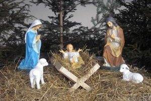 Betlehem. V tomto roku sa podarilo postaviť ho aj vo Vyšnom Slavkove.