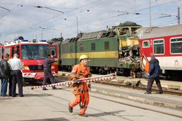 Železničné nešťastie v Spišskej Novej Vsi si vyžiadalo troch mŕtvych.