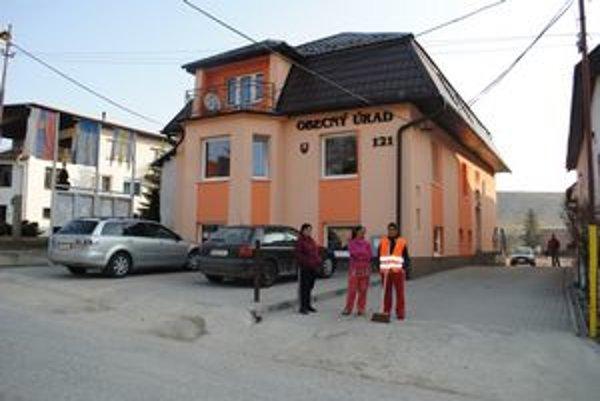 Obecný úrad v Bystranoch.